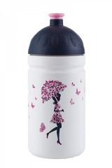 Zdravá lahev 0,5L - Dívka s deštníkem č.1