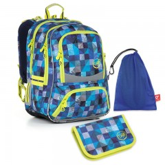 Školní set Topgal CHI 870 D Medium + ZDARMA box na svačinu + doprava č.1