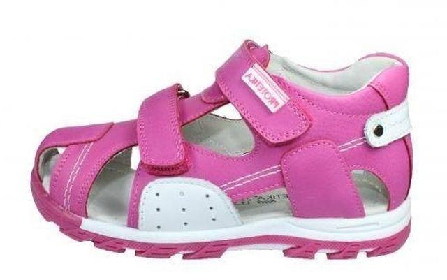601c90a6b45 Dětské sandály Protetika Neal fuxia č.1