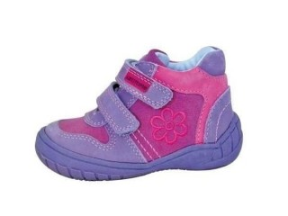 Dětské celoroční boty Protetika Naomi lila č.1