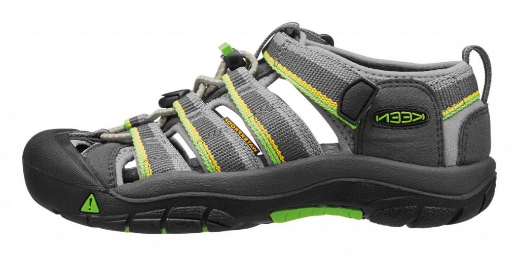 Dětské letní boty Keen Racer gray