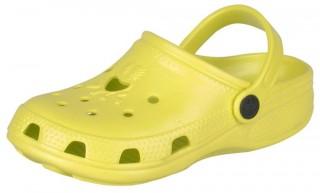 Dětské sandály Coqui Froggy 8101 citrusové č.1