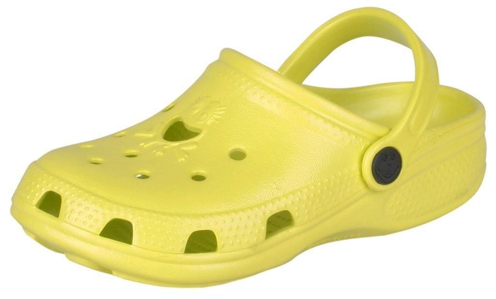 Dětské sandály Coqui Froggy 8101 citrusové