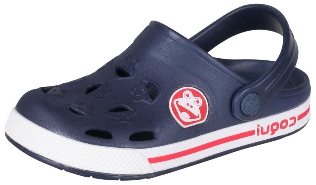 Dětské sandály Coqui Froggy 8801 modré/bílé