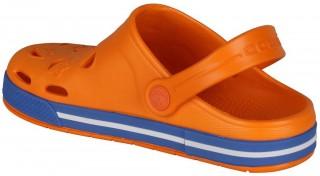 Dětské sandály Coqui Froggy 8801 oranžové/modré č.3