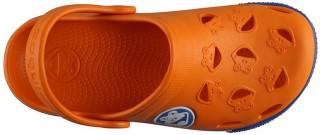 Dětské sandály Coqui Froggy 8801 oranžové/modré č.4
