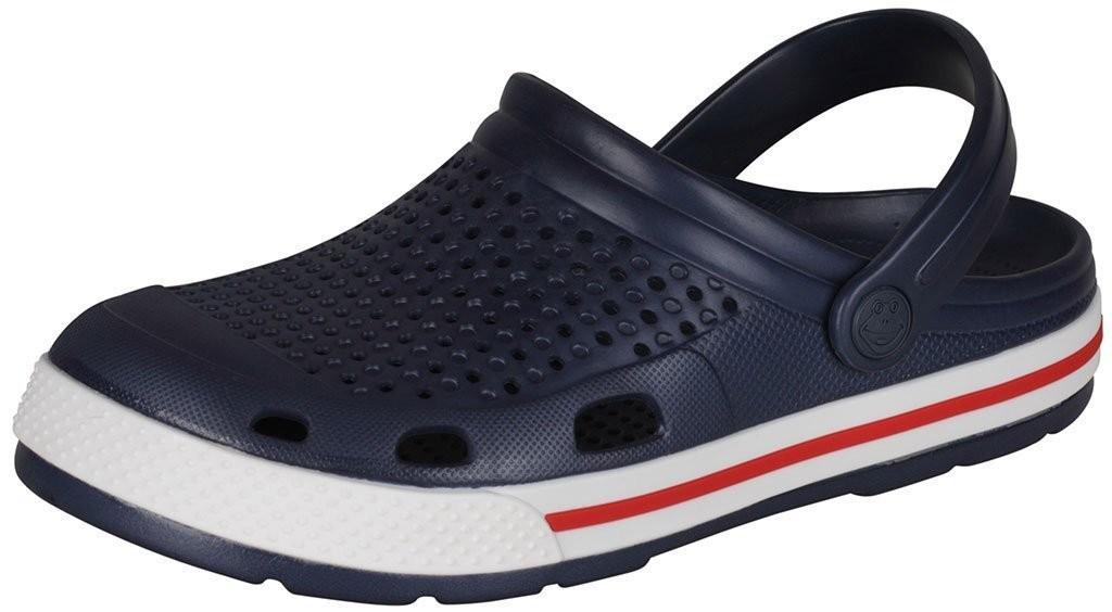 Dětské/dámské sandály Coqui Lindo 6413 tm. modrá/bílá