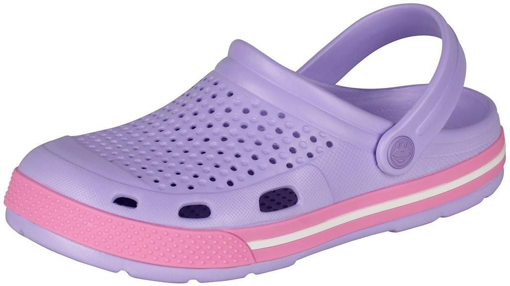 Dětské/dámské sandály Coqui Lindo 6413 sv fialové/růžové