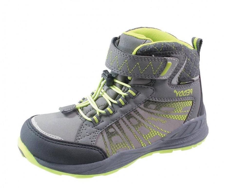 Dětské softshellové boty Peddy PV -509-22-28