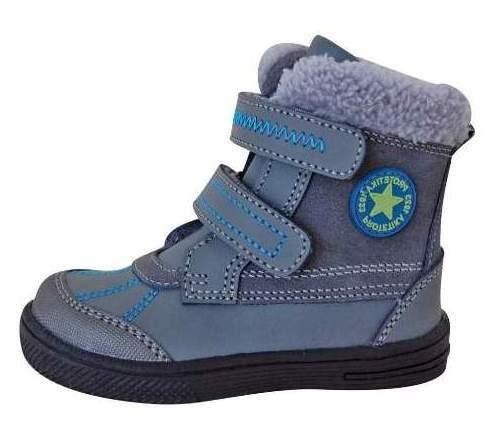 e3c0a630f37 Dětské zimní boty Protetika Frenk grey č.1