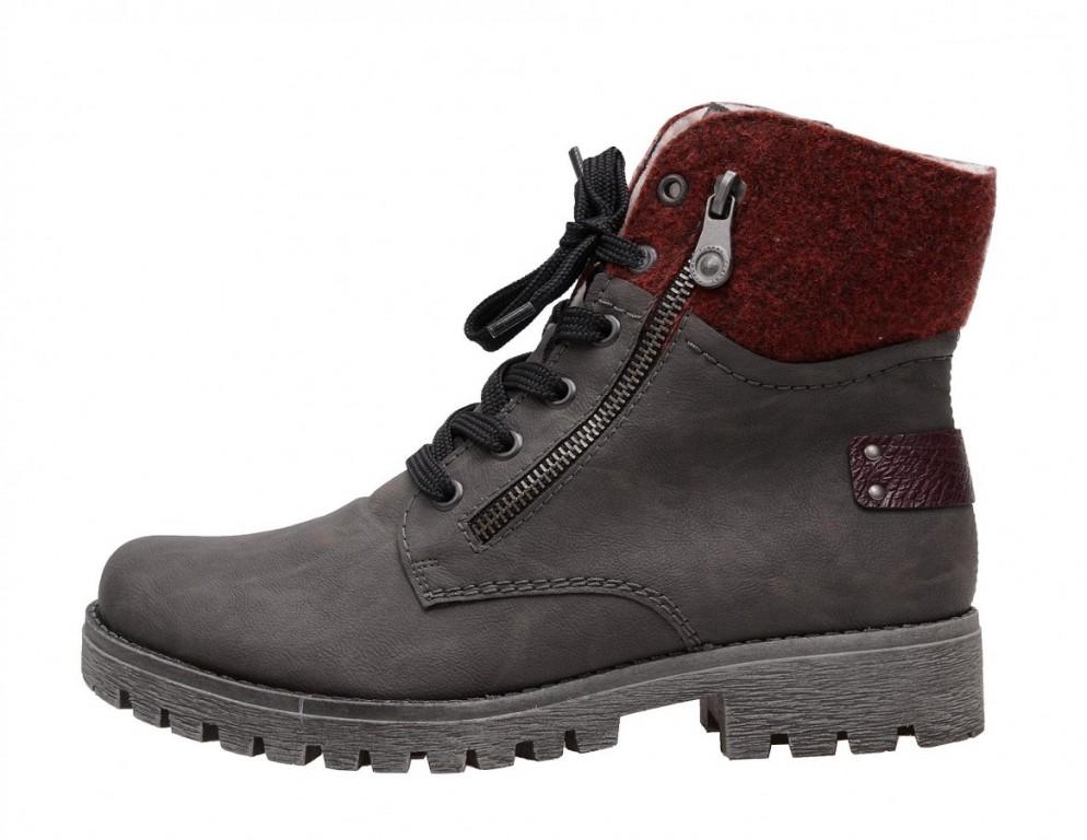 Dámské zimní boty Rieker 78541-45