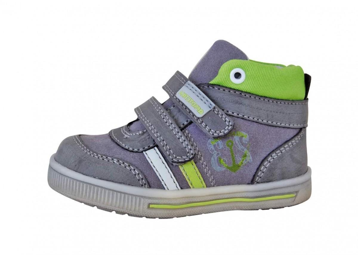 96a5a54f57a9 Dětské celoroční boty Protetika Kansas č.1