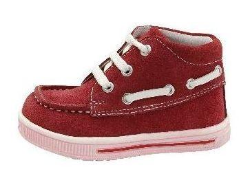 Dětské celoroční boty Protetika Falko burgundy