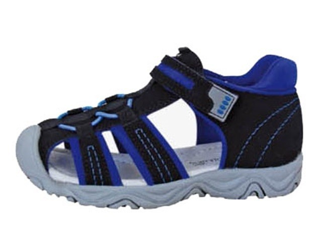 Dětské sandály Protetika Art black