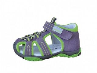 Dětské sandály Protetika Sid green č.1