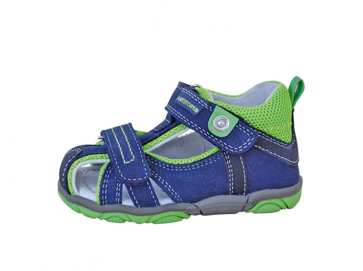 216980f84ab1 Dětské sandály Protetika Real green č.1