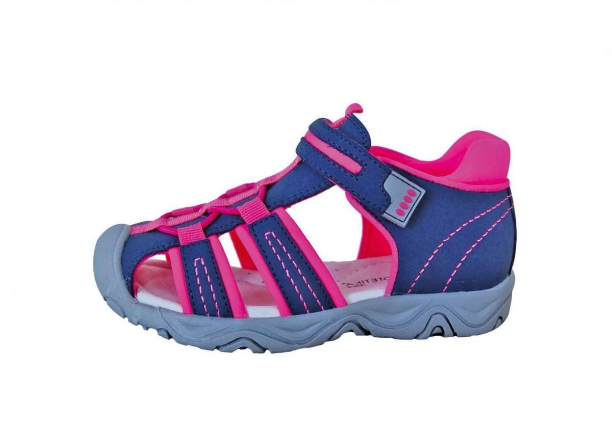776327c9661 Dětské sandály Protetika Art fuxia č.1