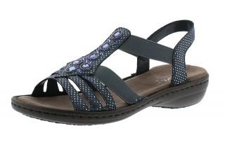 Dámské sandály Rieker 60813-12 č.1