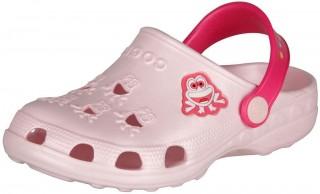 Dětské sandály Coqui Frog 8701 Pale Pink/Lt. Fuchsia č.1