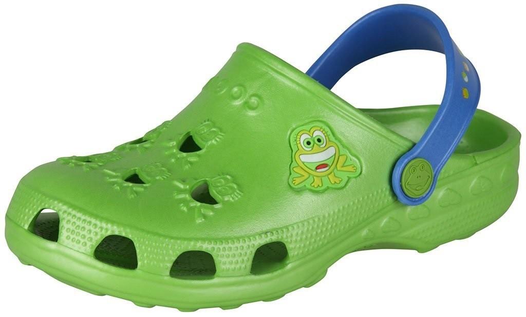 Dětské sandály Coqui Frog 8701 Lime/royal