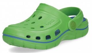Dětské sandály Coqui Jumper 6353 Lime/sea blue č.1