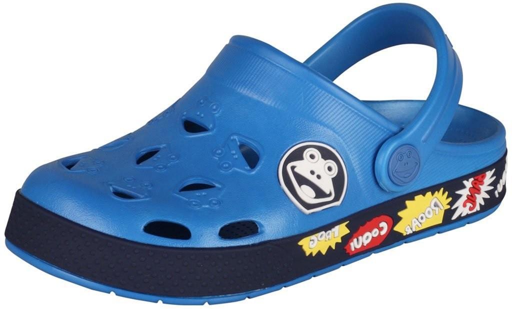4b4ca3cc967ae Dětské sandály Coqui Froggy 8802 Sea blue/navy | Dětská obuv ...