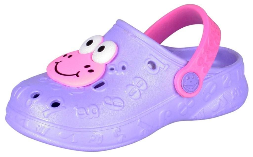 Dětské sandály Coqui Hoppa 9381 Fuchsia