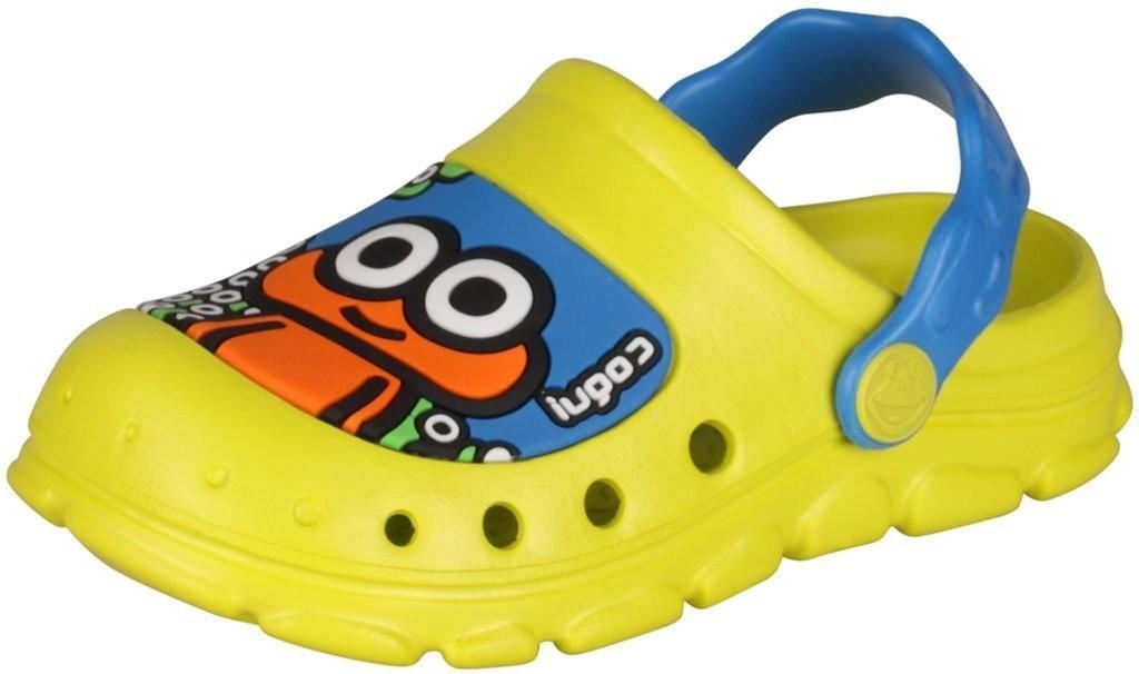 Dětské sandály Coqui Stoney 9383 Citrus/sea blue