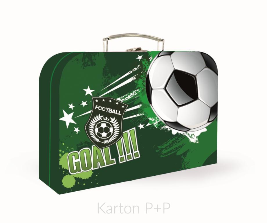 Kufřík lamino P+P Karton Fotbal