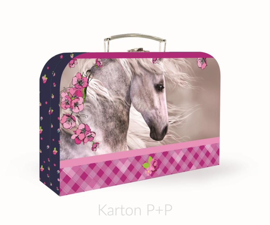 Kufřík lamino P+P Karton Kůň