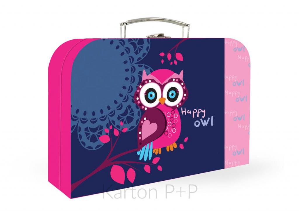 Kufřík lamino P+P Karton Sova