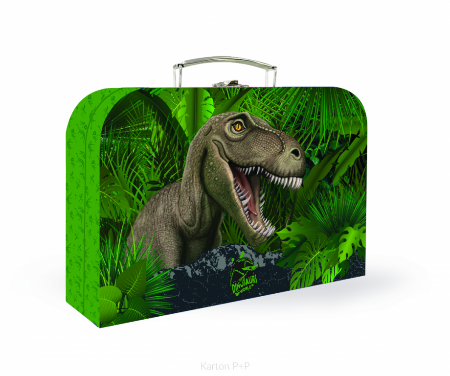 Kufřík lamino P+P Karton T-rex