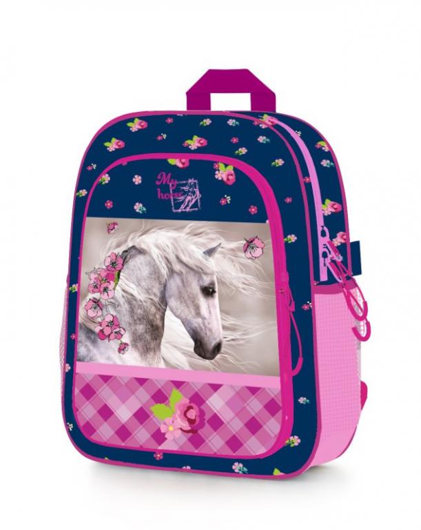 Dětský předškolní batoh 7-68617 Kůň