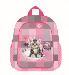Dětský předškolní batoh 3-20617 Kočka č.1
