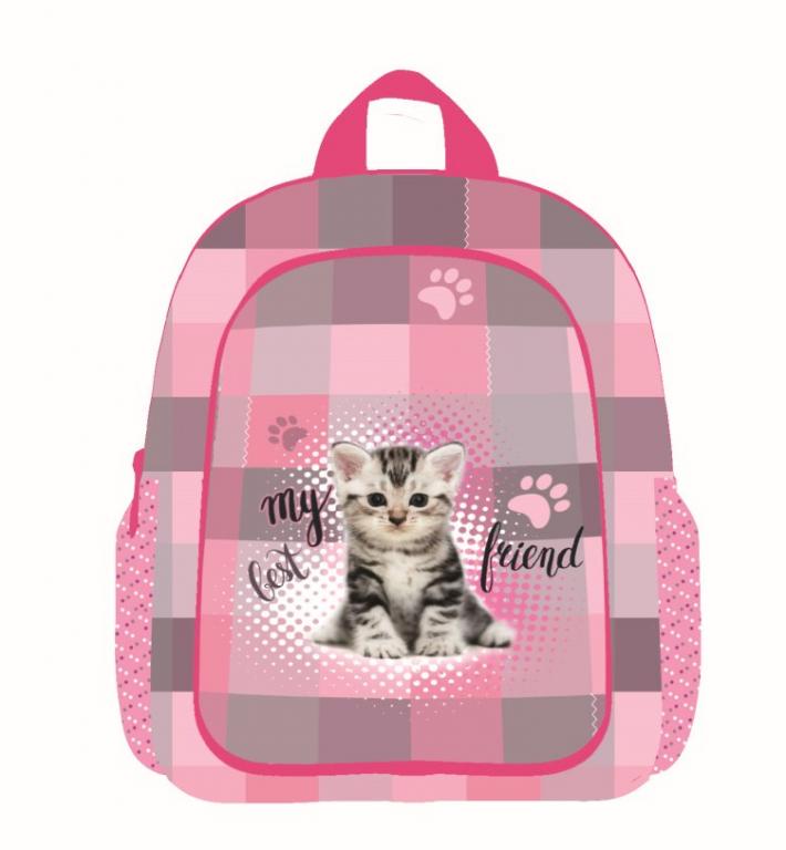 Dětský předškolní batoh 3-20617 Kočka