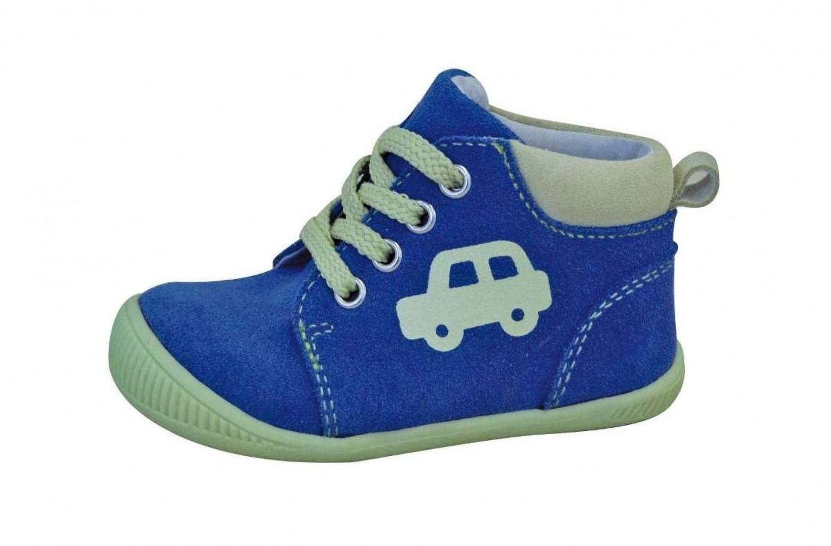 7c680057712a Dětské celoroční boty Protetika Baby green č.1