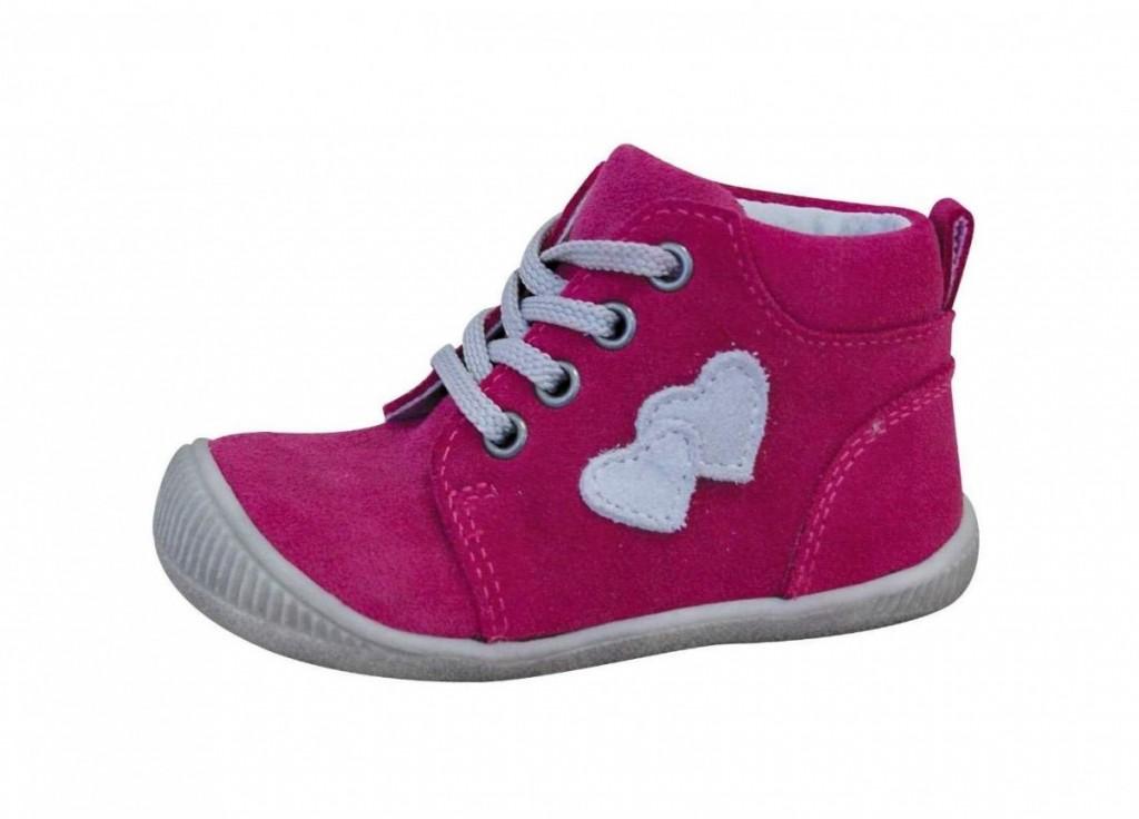 Dětské celoroční boty Protetika Baby fuxia 880a29fdb6