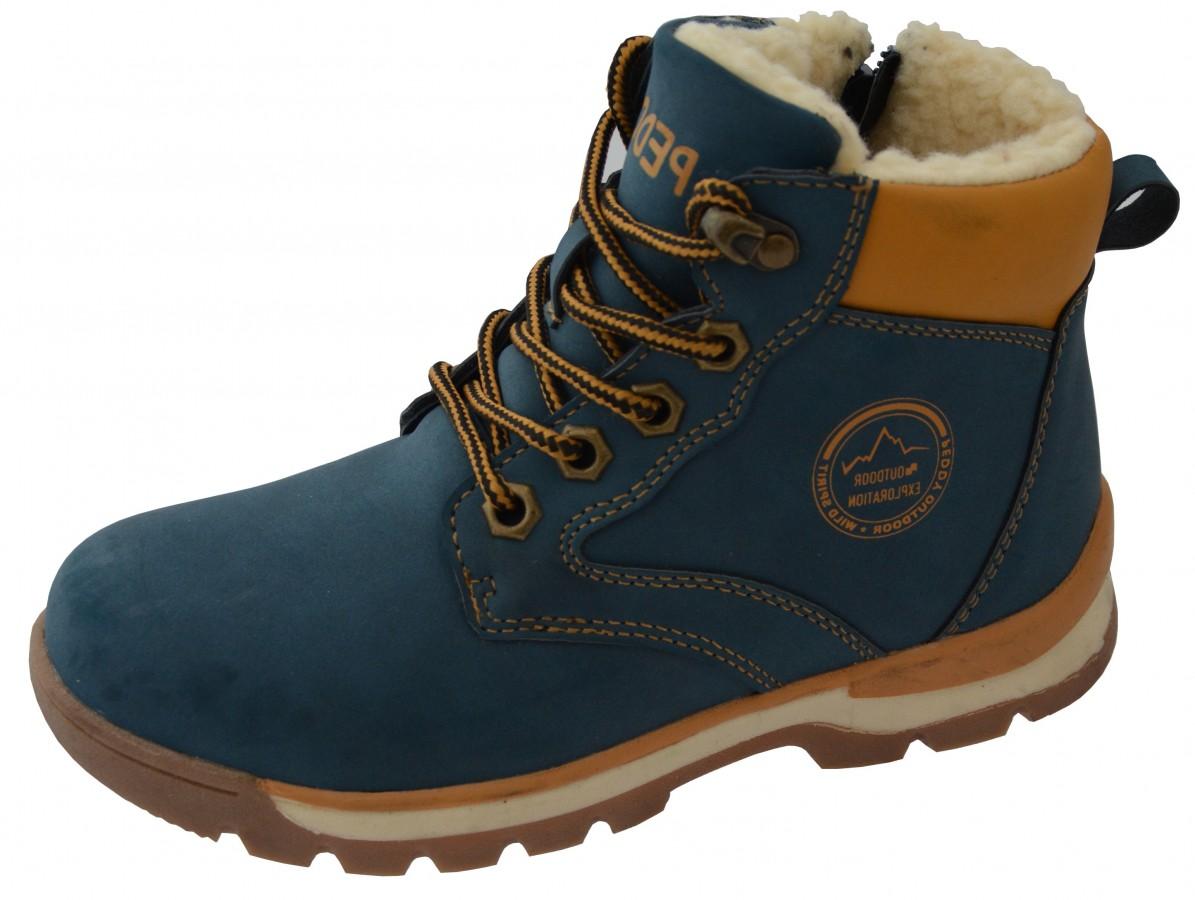 Dětské zimní boty Peddy P1-536-37-04 č.1 eb726cdeb0