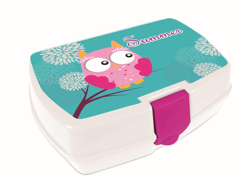 Box na svačinu P+P Karton 3-35017 Sova