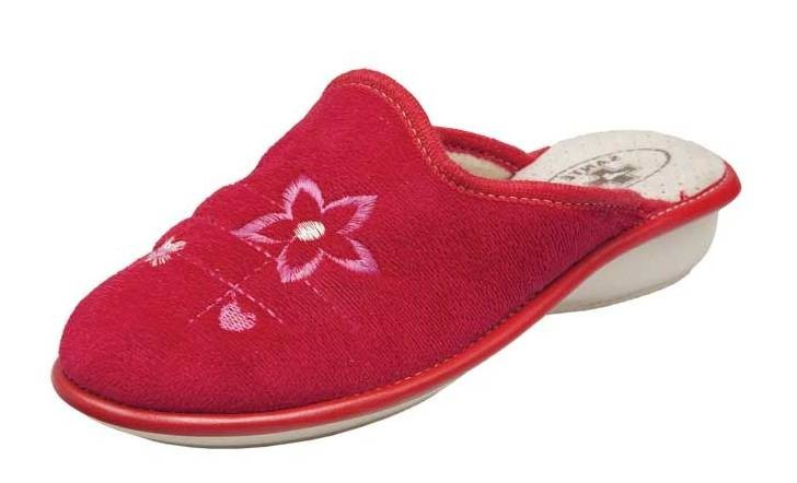 Dámské domácí pantofle Santé LX/214 Rosso