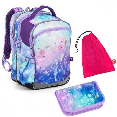 Školní batoh Topgal COCO 18044 G set MEDIUM + ZDARMA box na svačinu + doprava