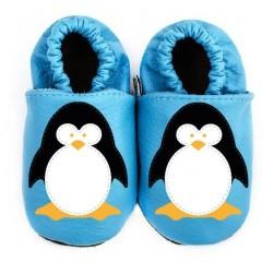 Kožené capáčky Afelo tučňák č.1