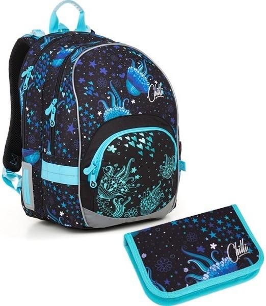 Školní batoh Topgal KIMI 18013 G set small + ZDARMA box na svačinu + doprava