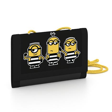 Dětská textilní peněženka Mimoni 3-39517
