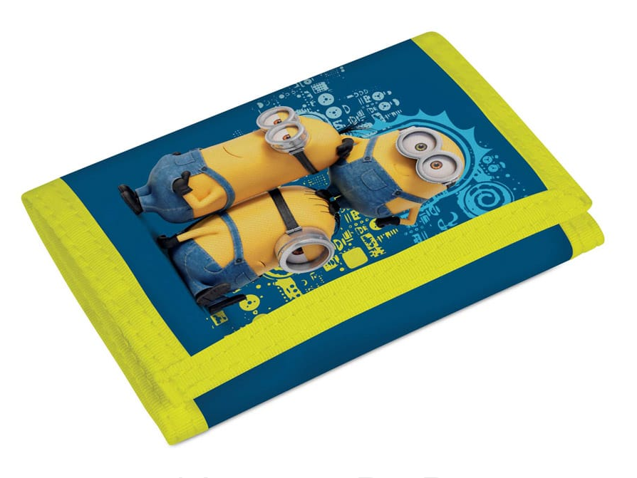 Dětská textilní peněženka Mimoni 3-395