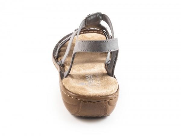 974e69eb1fa0 ... Dámské sandály Rieker 60800-42 č.3 ...