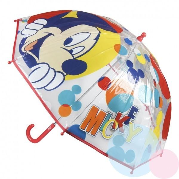 Dětský průhledný deštník Mickey Mouse 349