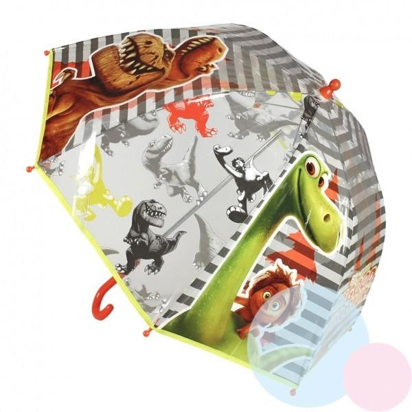 Dětský průhledný deštník Dinosauři 210