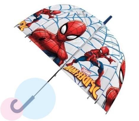 Dětský průhledný deštník Spiderman 15283