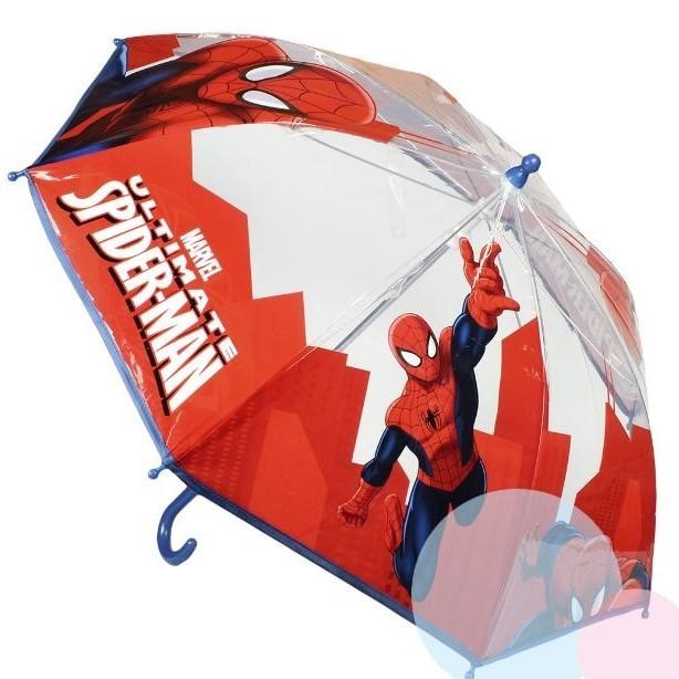 Dětský průhledný deštník Spiderman 270